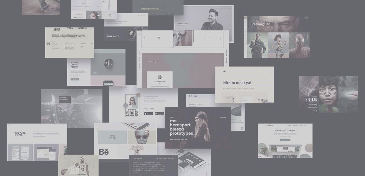 Multiple websites designs