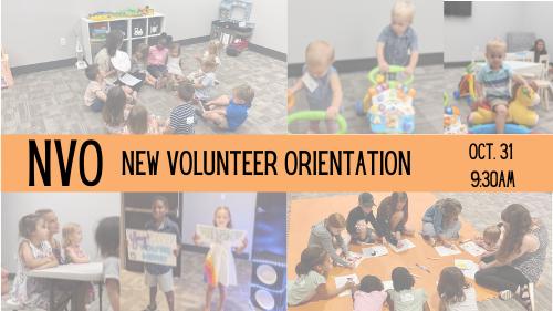 NVO New Volunteer Orientation