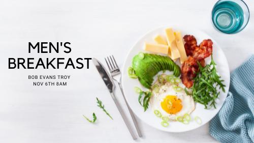 Men's Breakfast at Bob Evans Troy