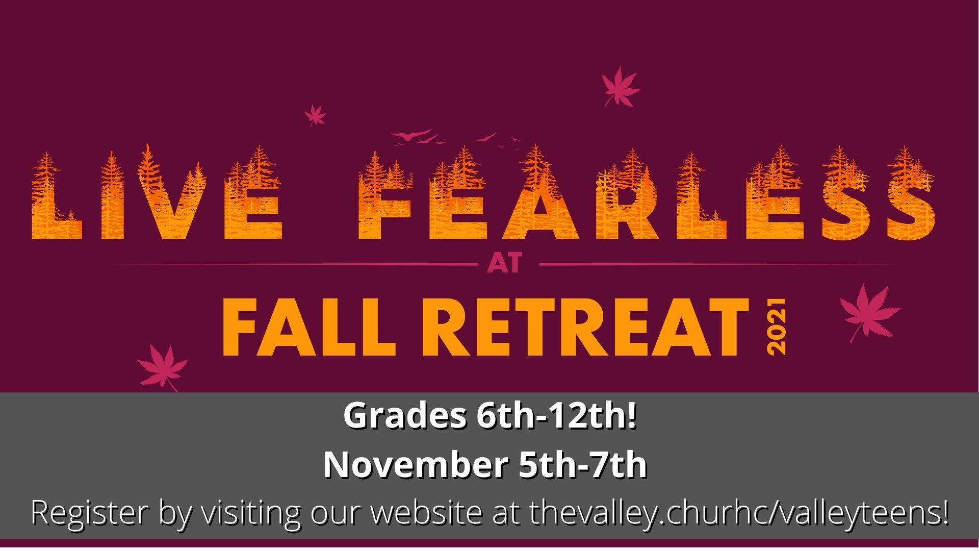 Fall Retreat 2021!