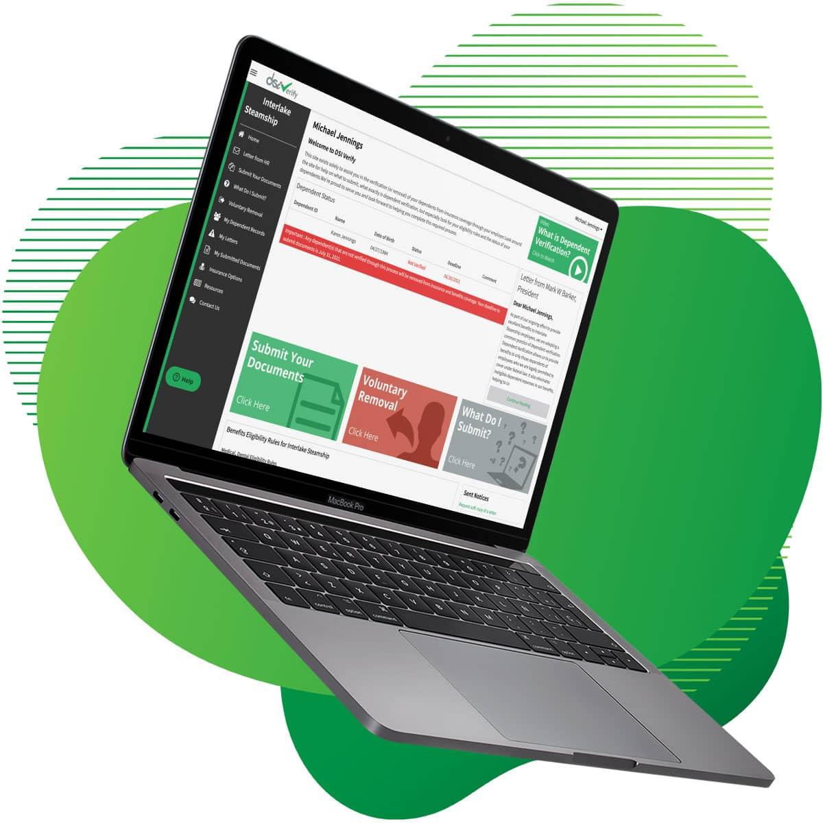 DSI Web Portal