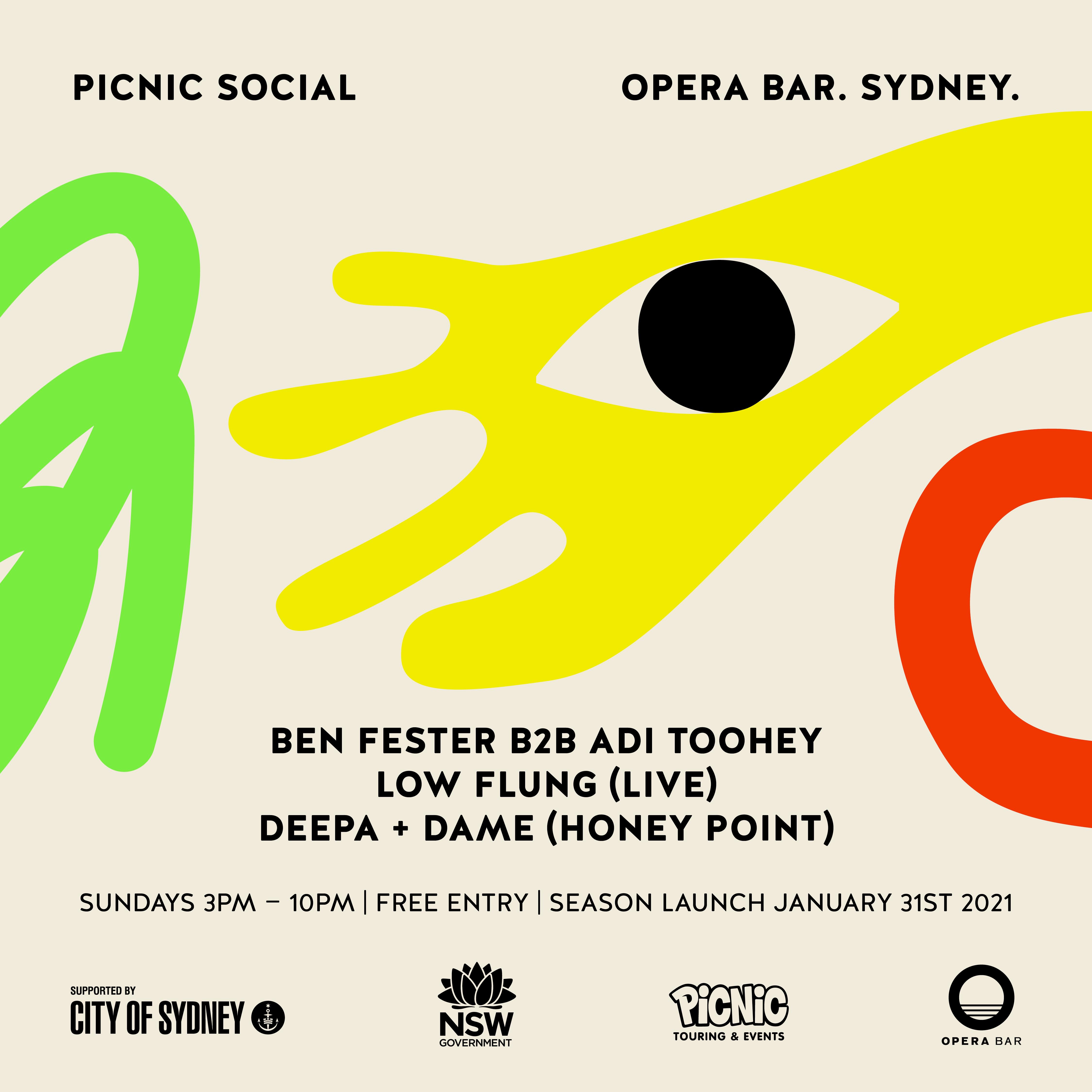 Picnic Social @ Opera Bar Launch