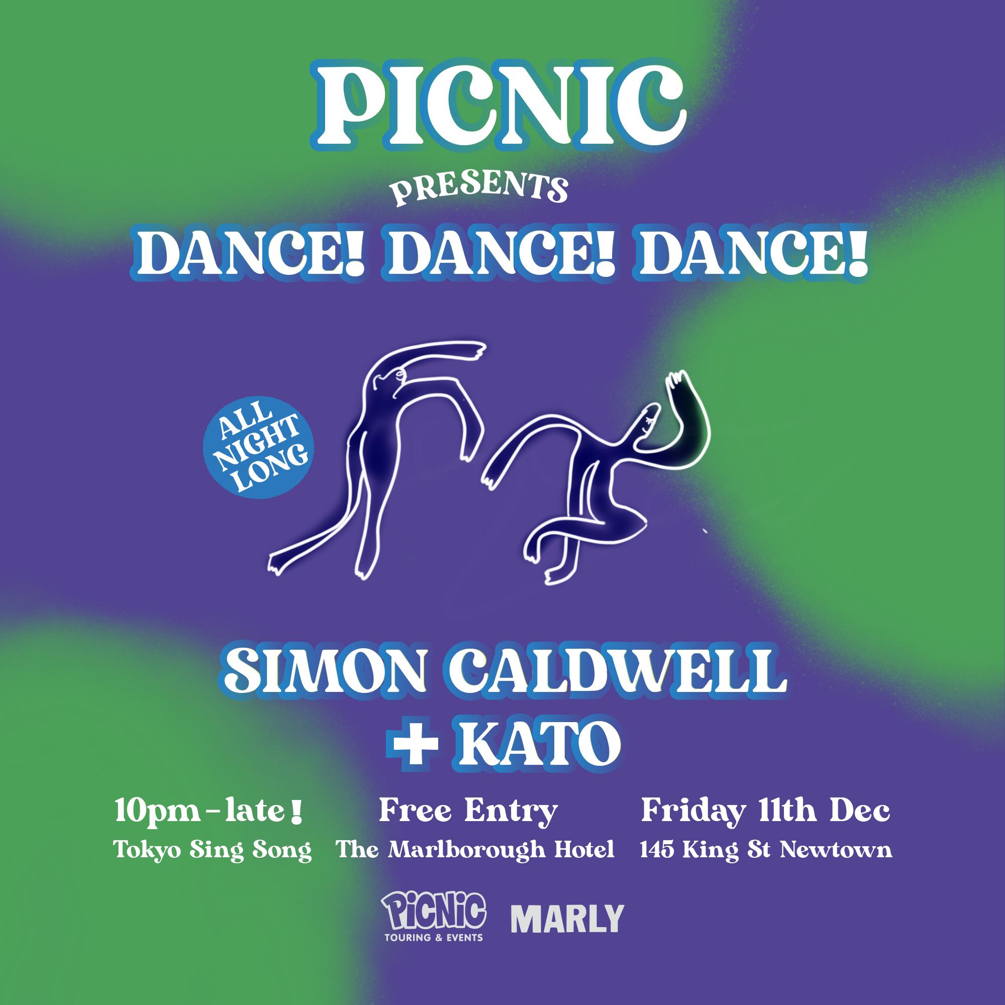 Dance! Dance! Dance! Simon Caldwell b2b Kato