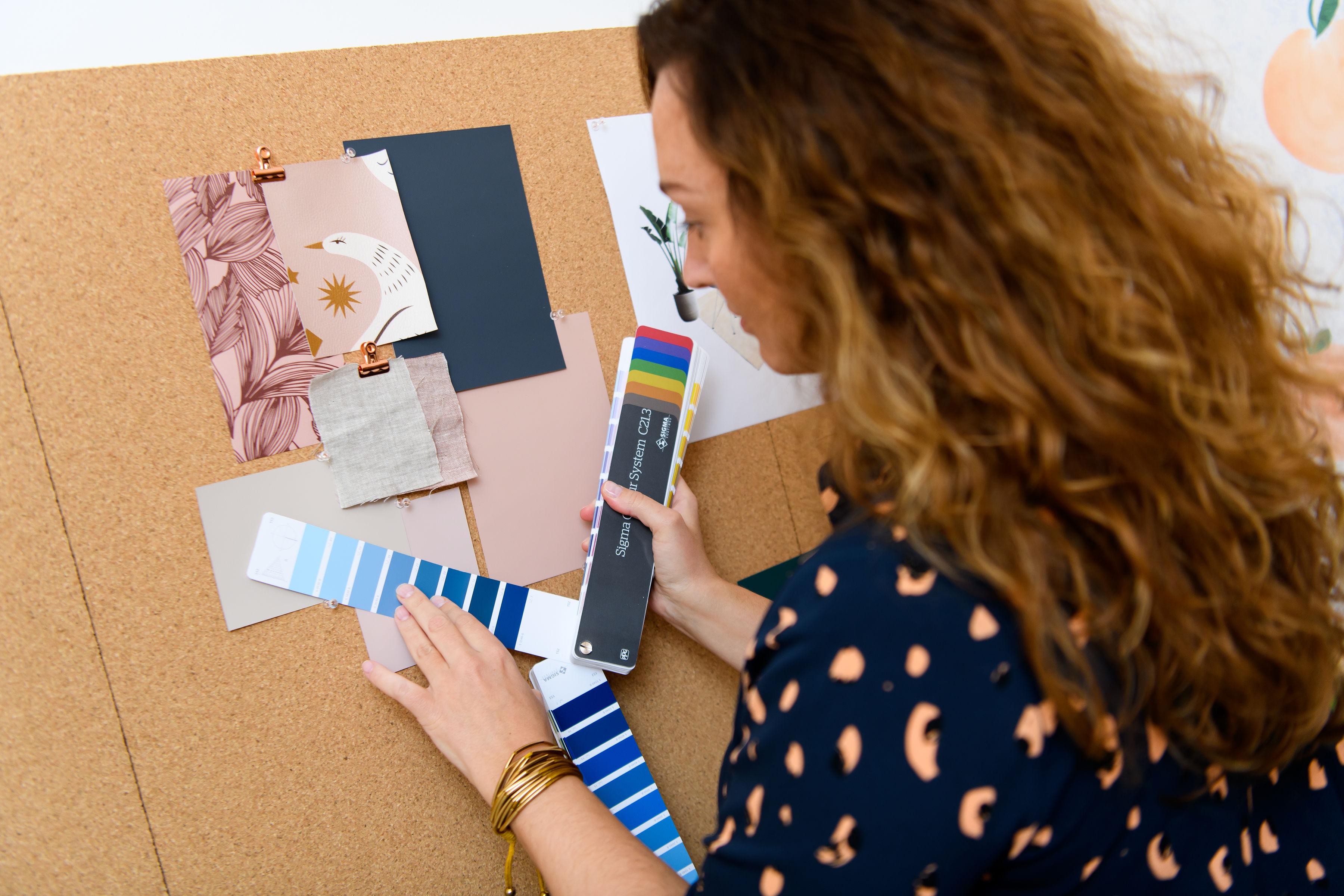 kleuradvies door kleurspecialist in rotterdam