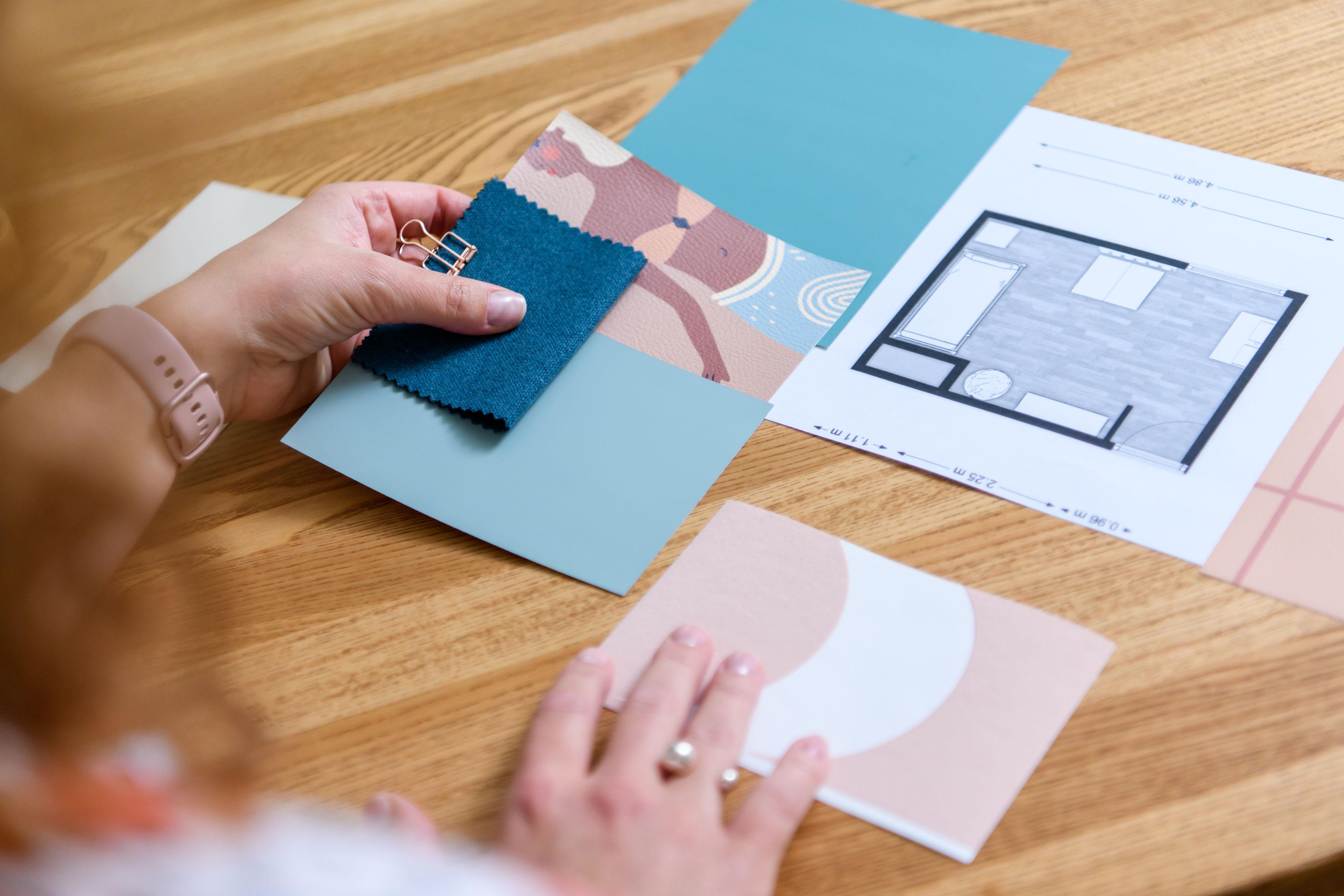 kleuradvies en materiaaladvies oplevering interieurplan