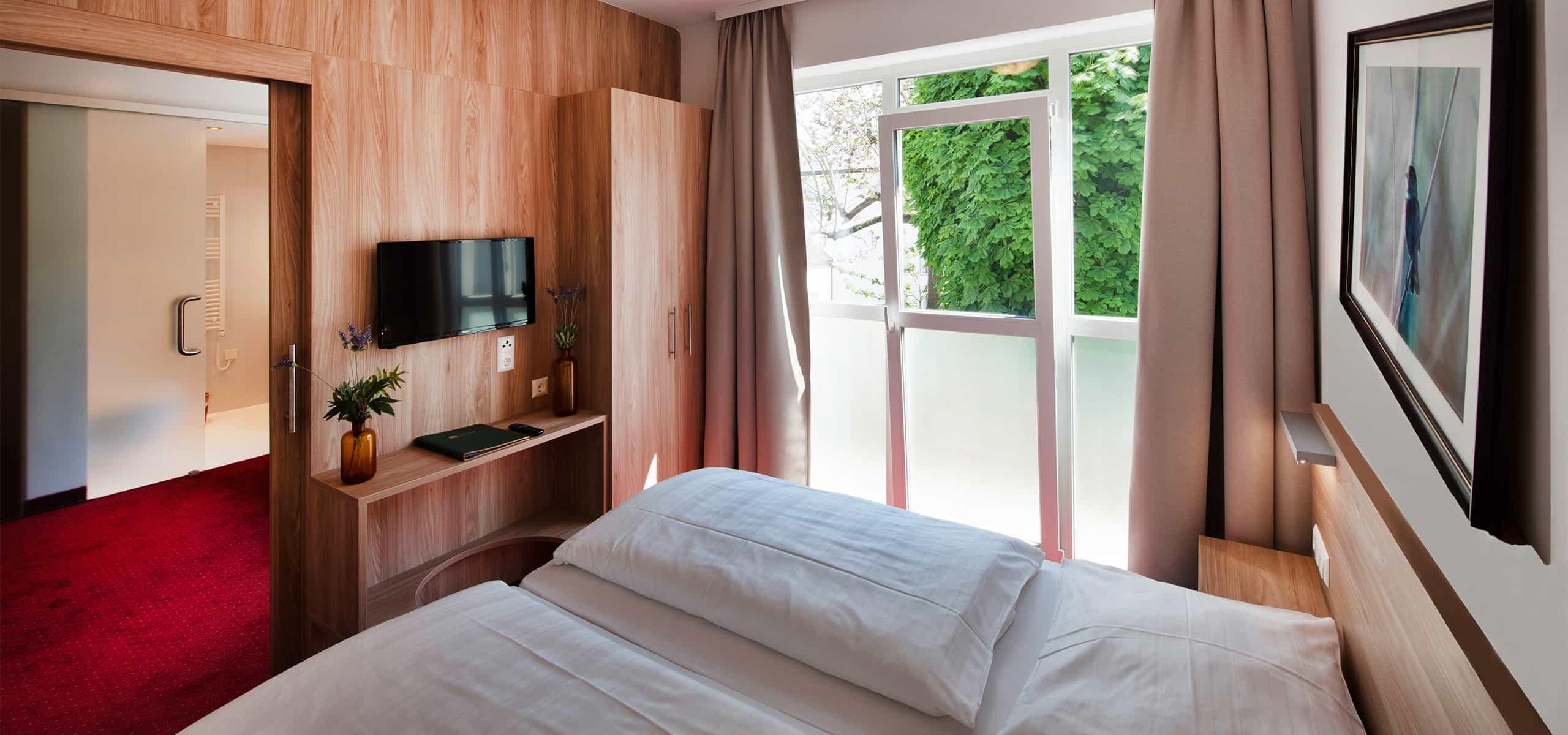 Zimmer Hotel zur Post Illmitz