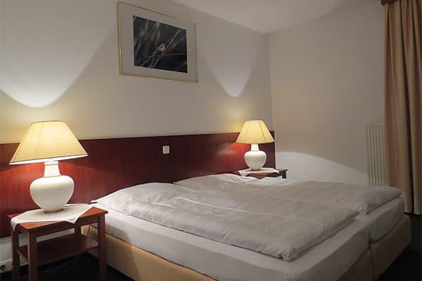 Standard Zimmer mit Dusche