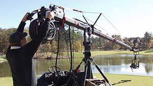 Camera Jib at River Club Golf Course in Alpharetta, GA