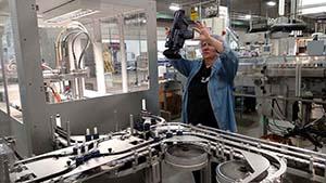 Revlon Manufacturing Line
