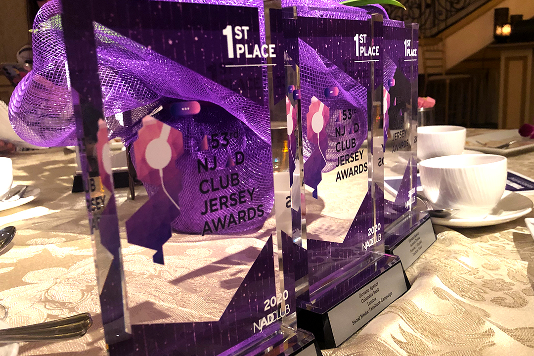 Giovatto Scores Three NJ Ad Awards!