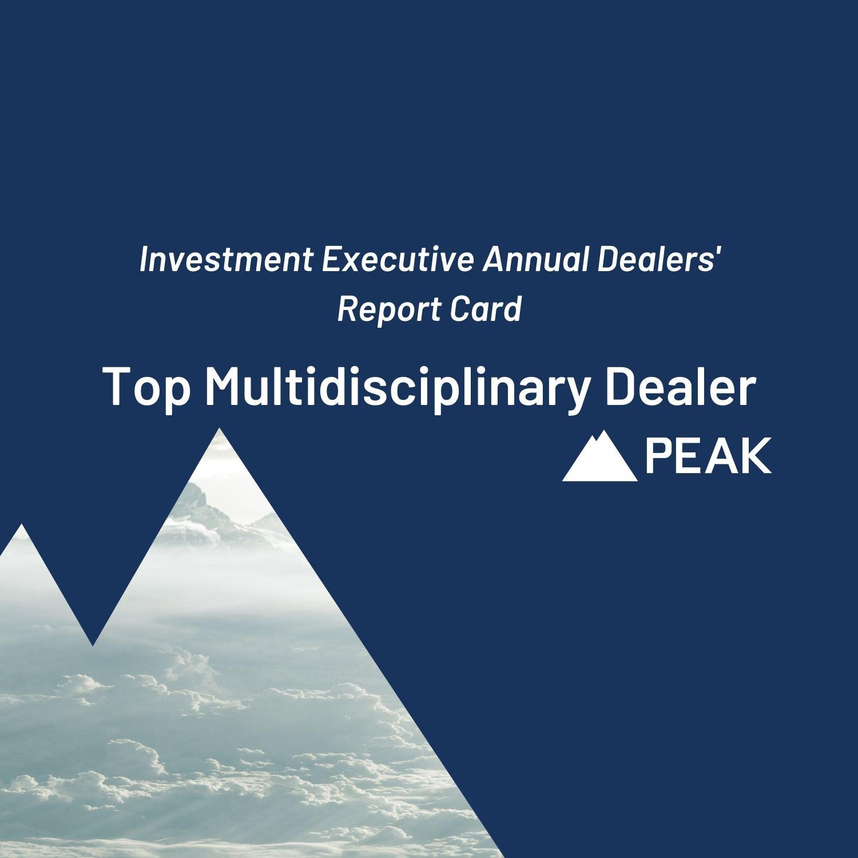 PEAK FINANCIAL GROUP RANKED AS TOP MULTIDISCIPLINARY DEALER