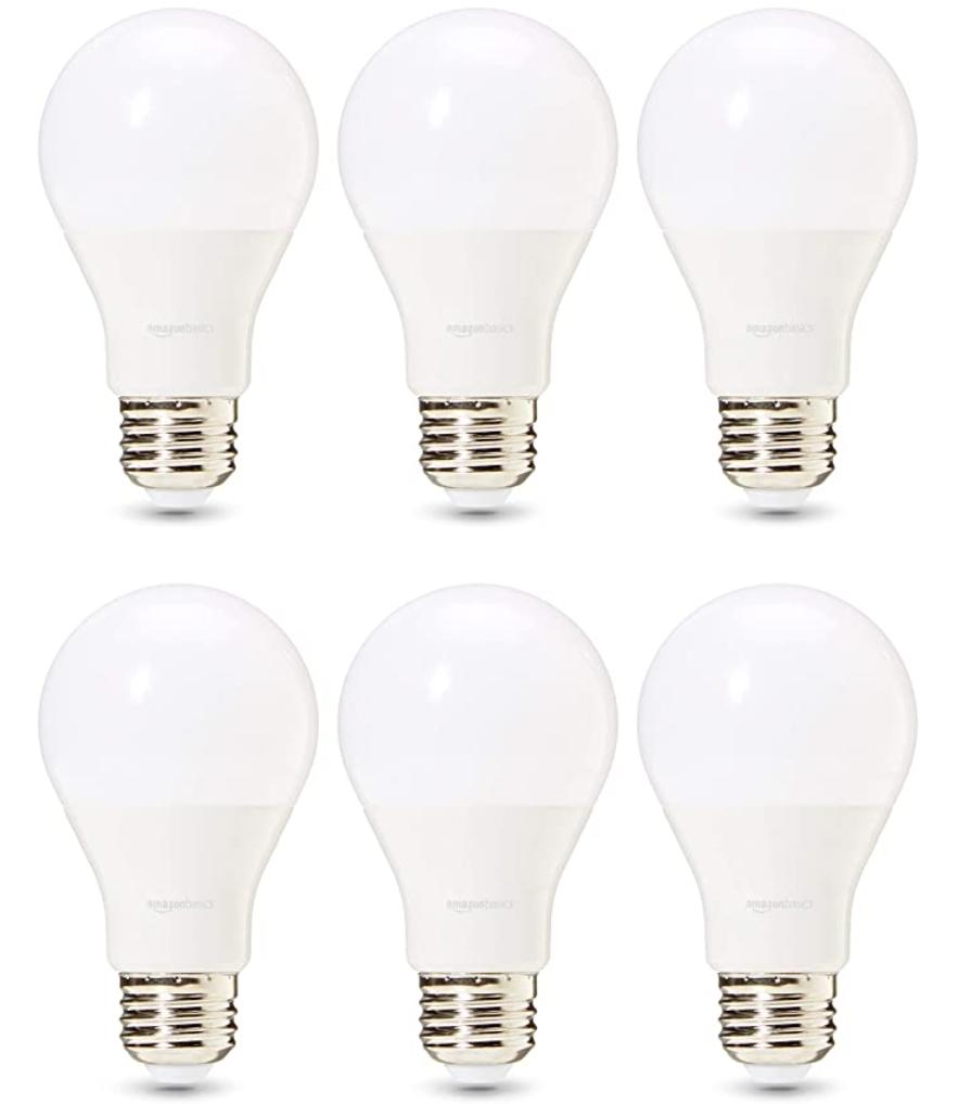 Amazon Basics A19 LED