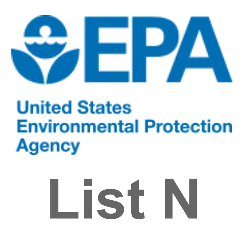 EPA List N