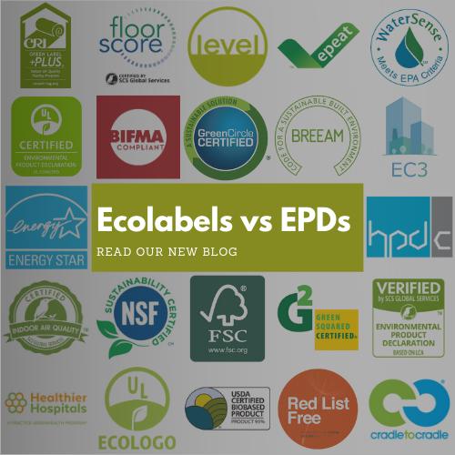 Ecolabels vs EPDs