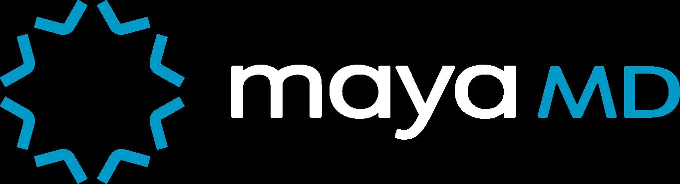 MayaMD PNG Logo (transparent) - Digital AI Health Assistant