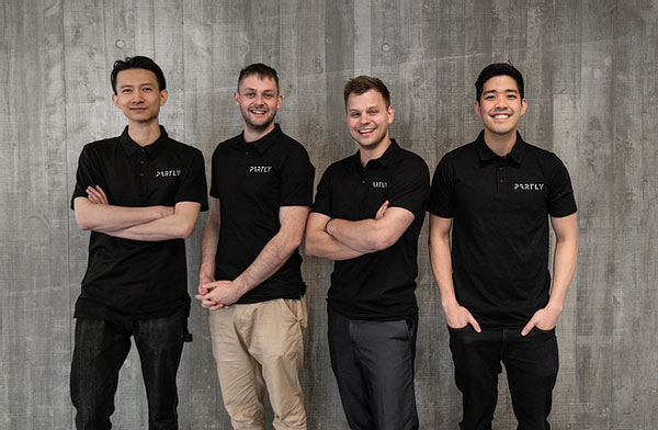 Partly Raises $1.2m USD in Pre-Seed funding from all star consortium of investors