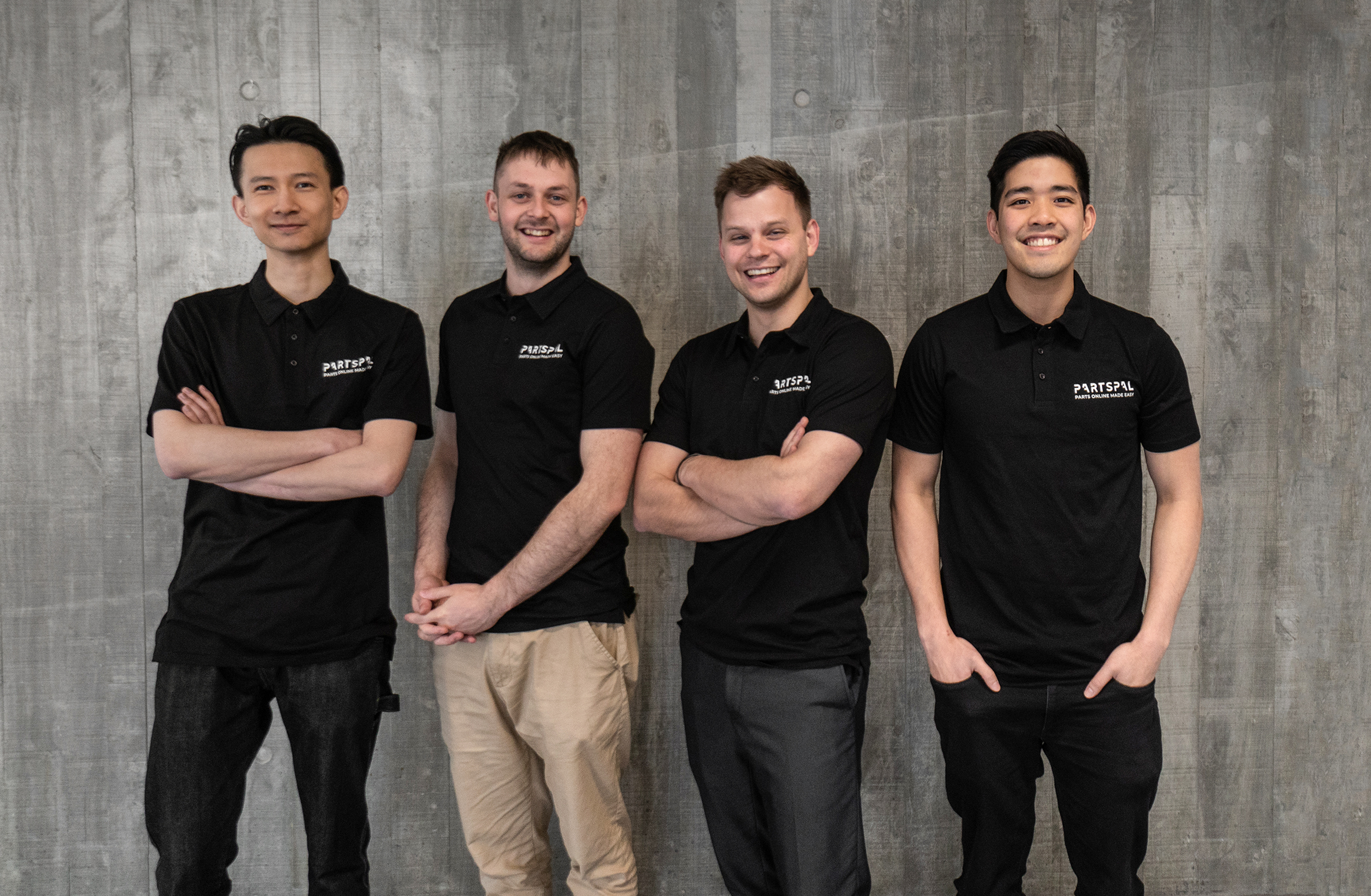 Partly Startup Founder Evan Jia Levi Fawcell Nathan Taylor Mark Song