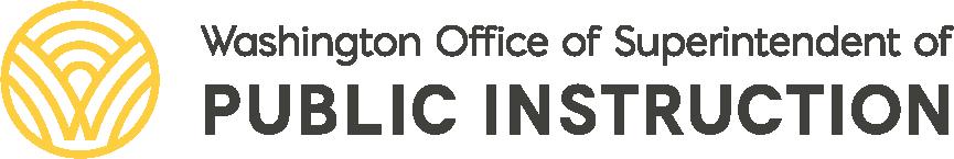 Logo for Washington Office of Superintendent of Public Instruction.