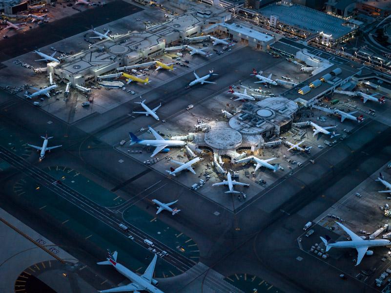 Airport atnight