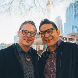 Azul Terronez and Steve Vannoy