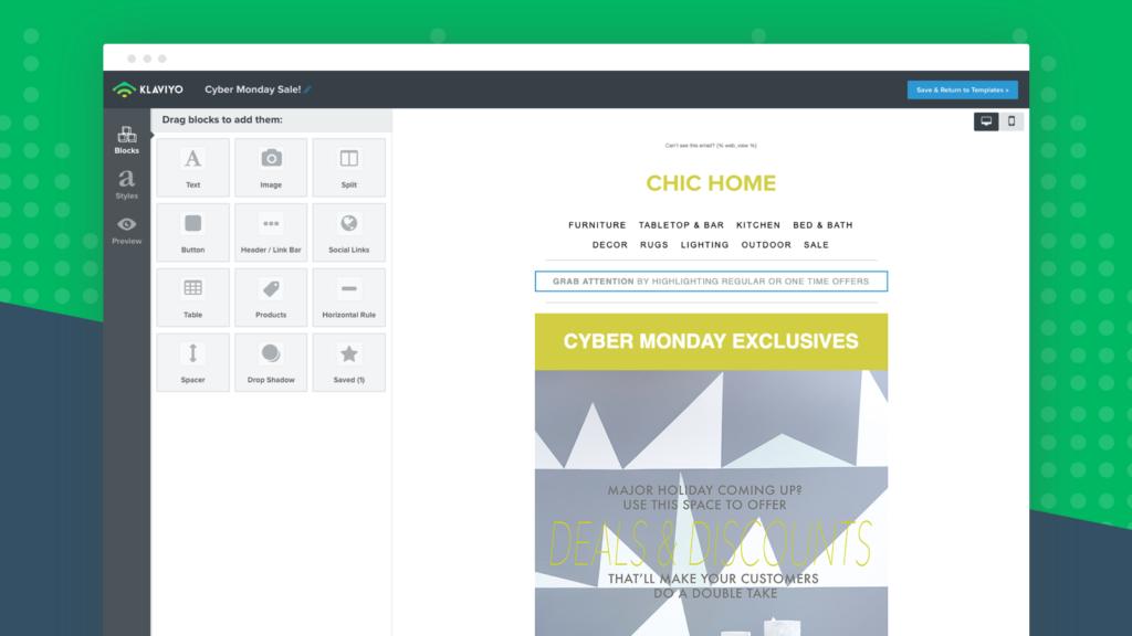 Klaviyo BFCM Shopify apps