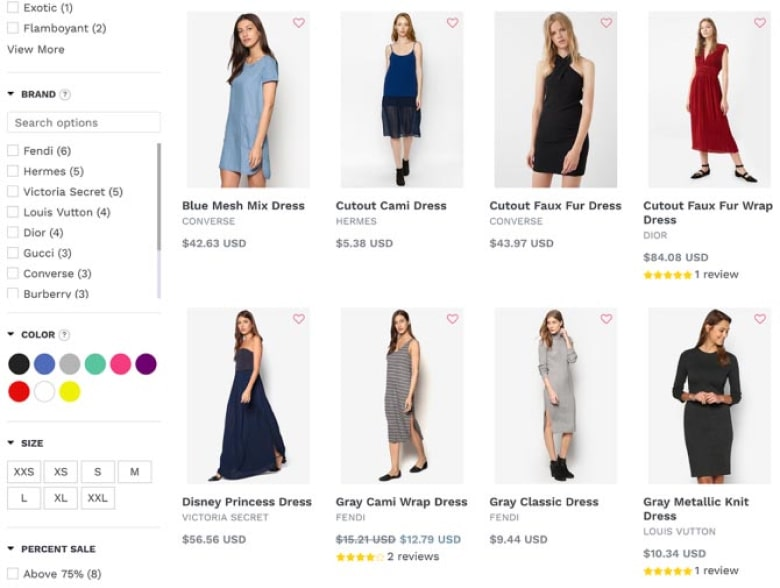 With Product Filter & Search you can easily add slick filters and real-time search to your Shopify store