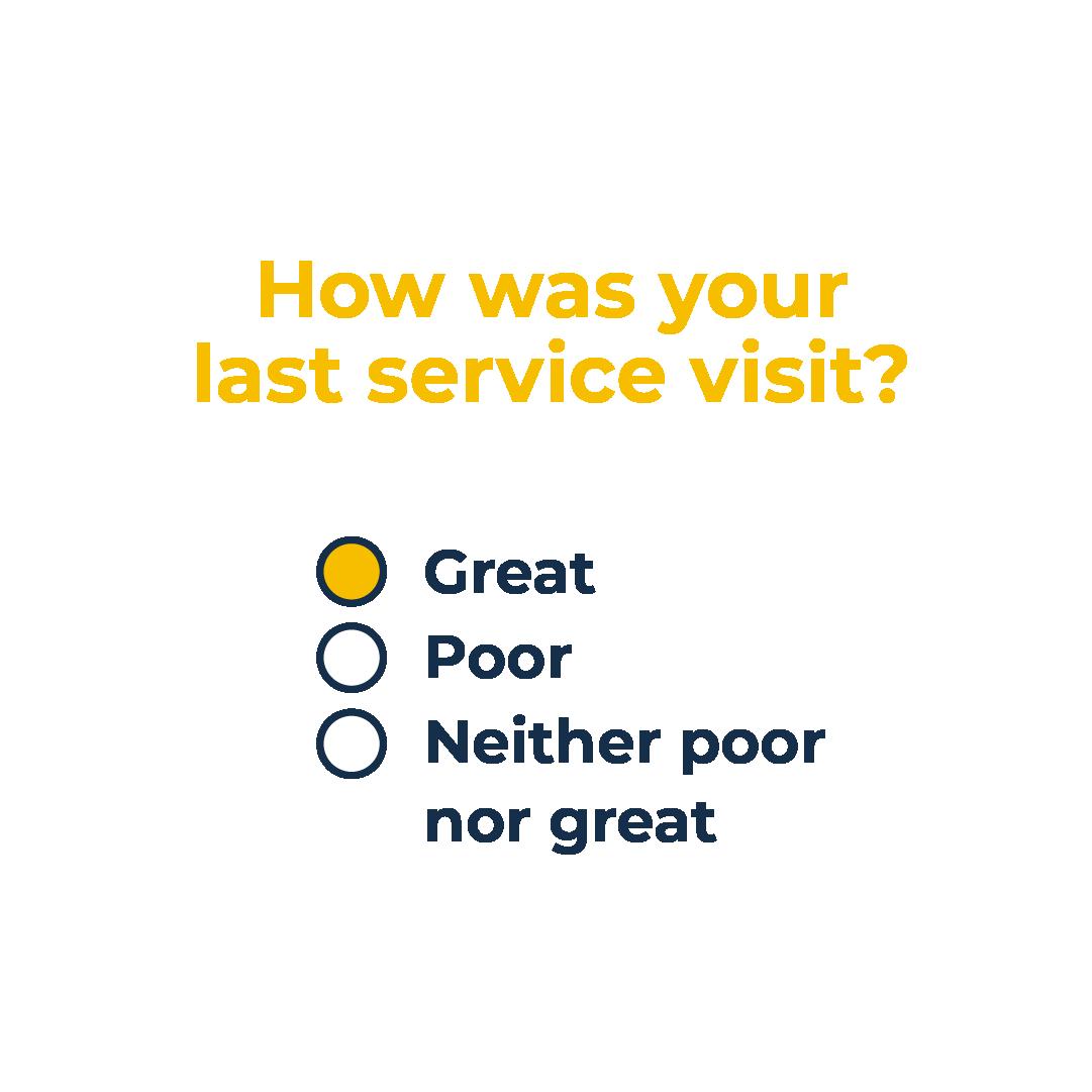 Survey sample question