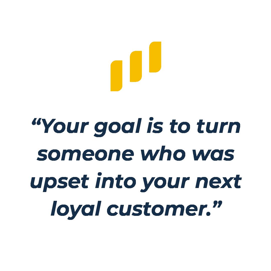 loyal customer quote