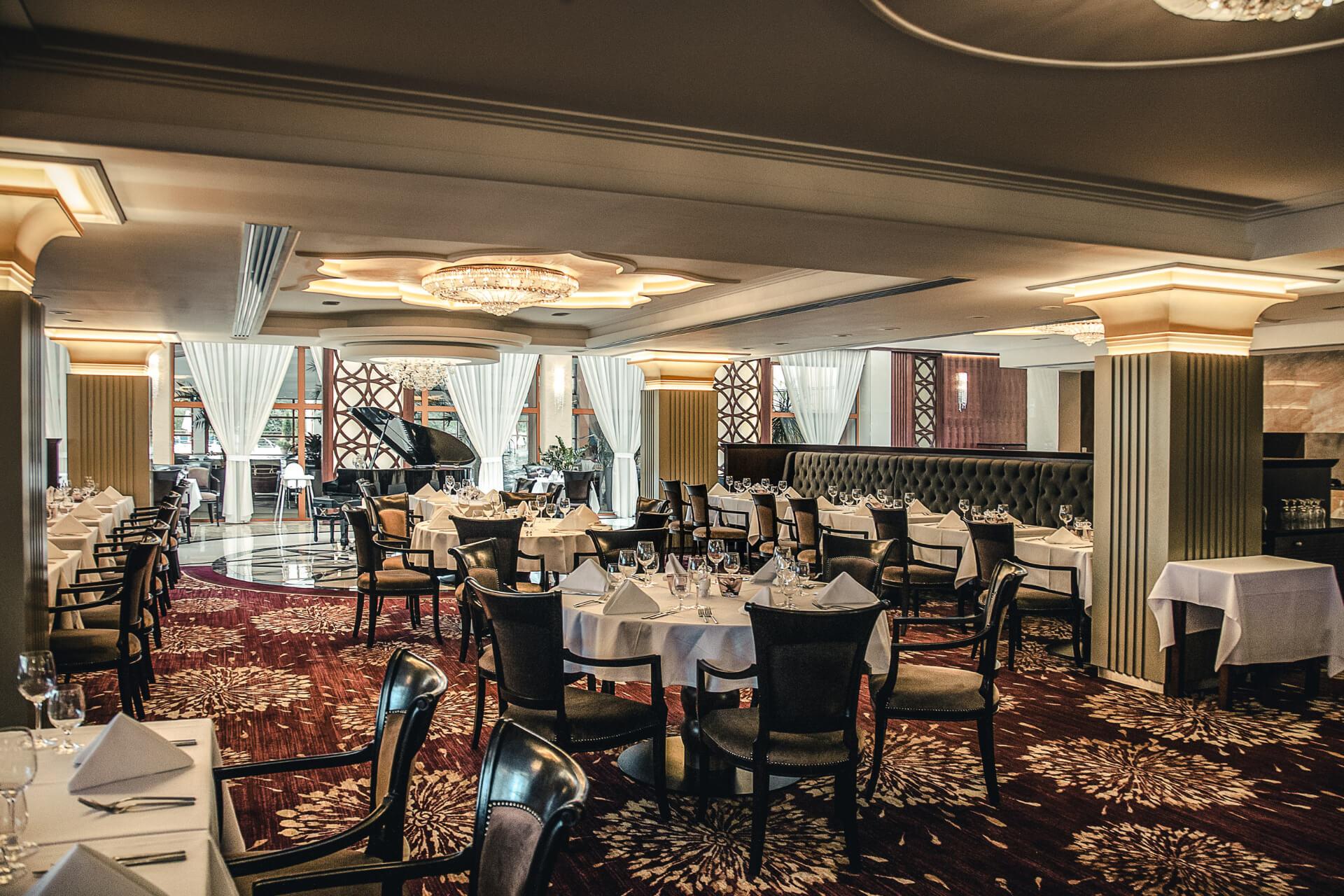 Hotelová reštaurácia Kaskady - priestory