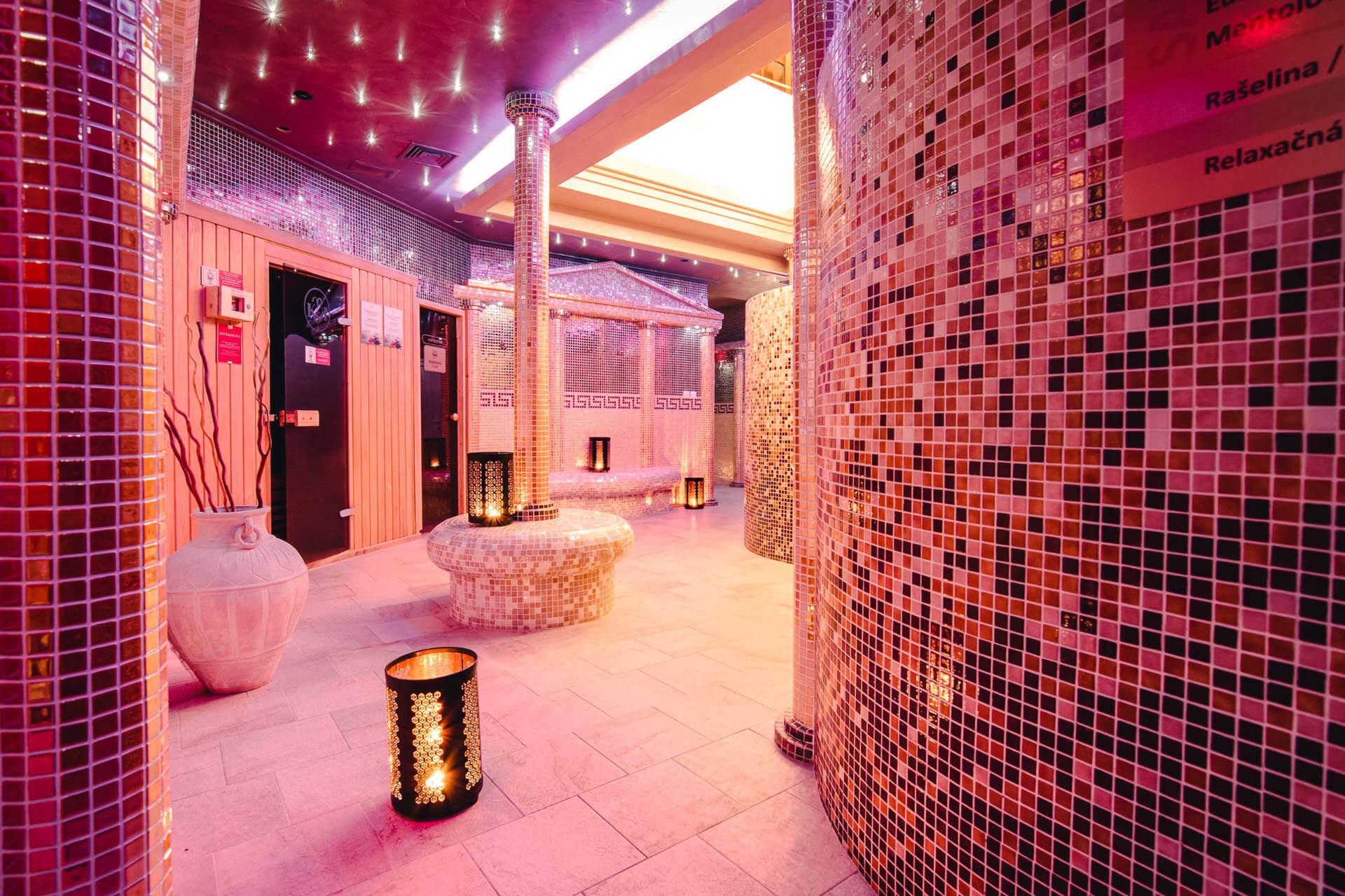 Saunový svet v hotel a spa resorte Kaskady