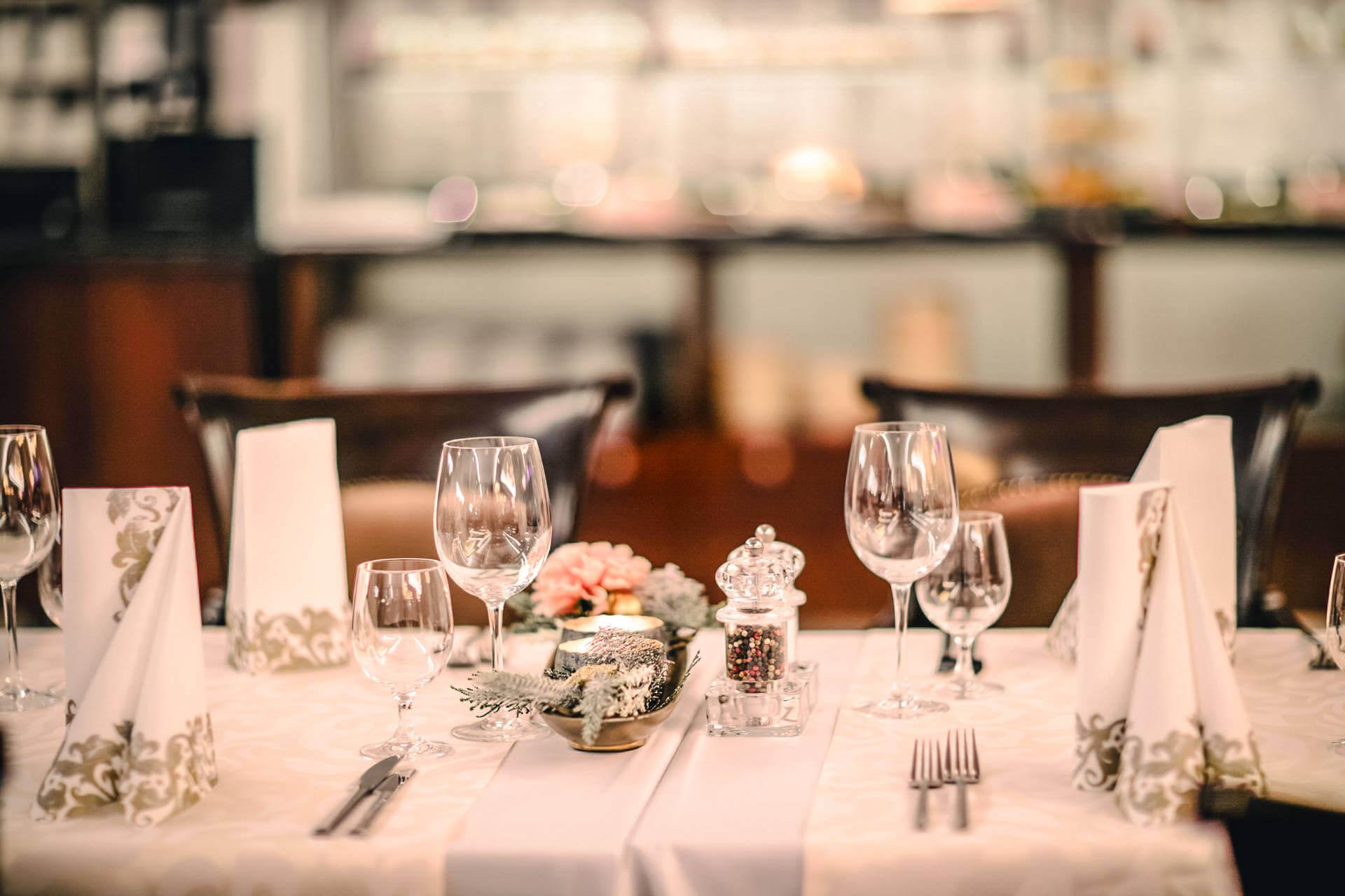 Hotelová reštaurácia Kaskady