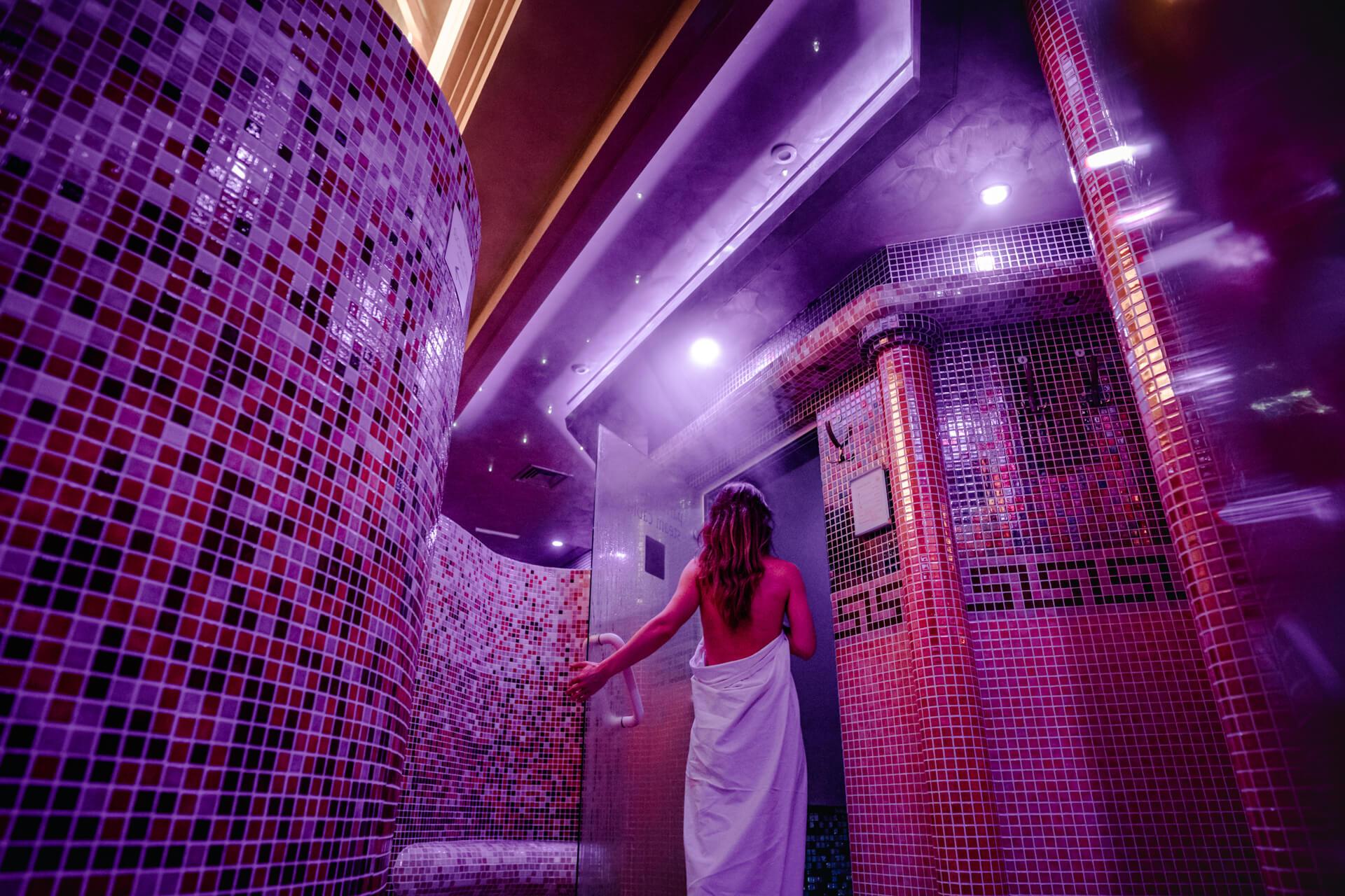 SPA - sauna v rezorte Kaskady