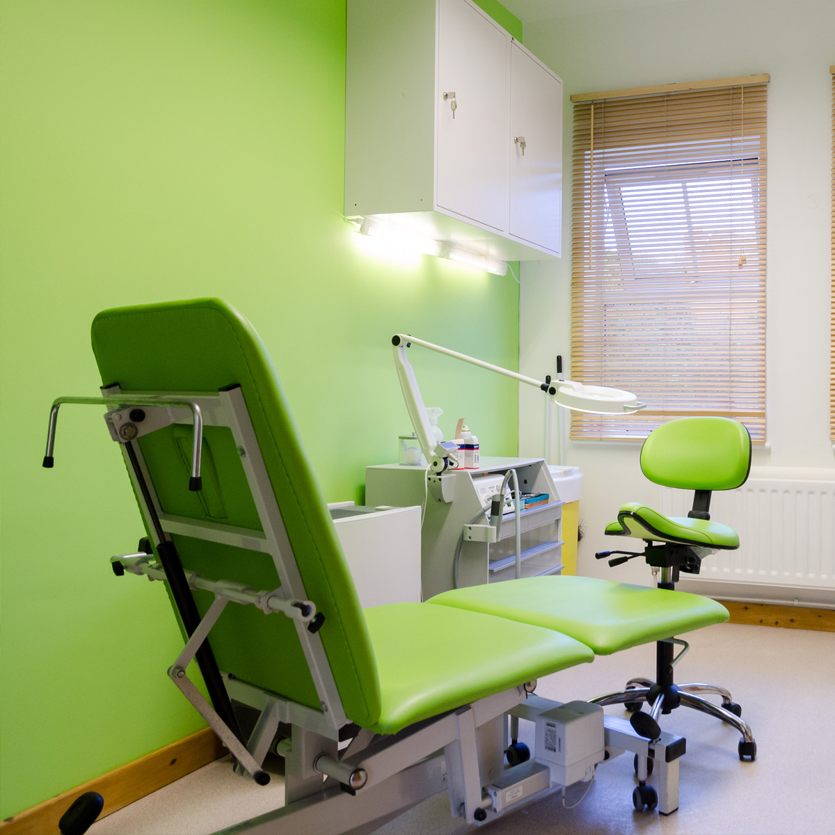 Rugby Podiatry Treatment Room
