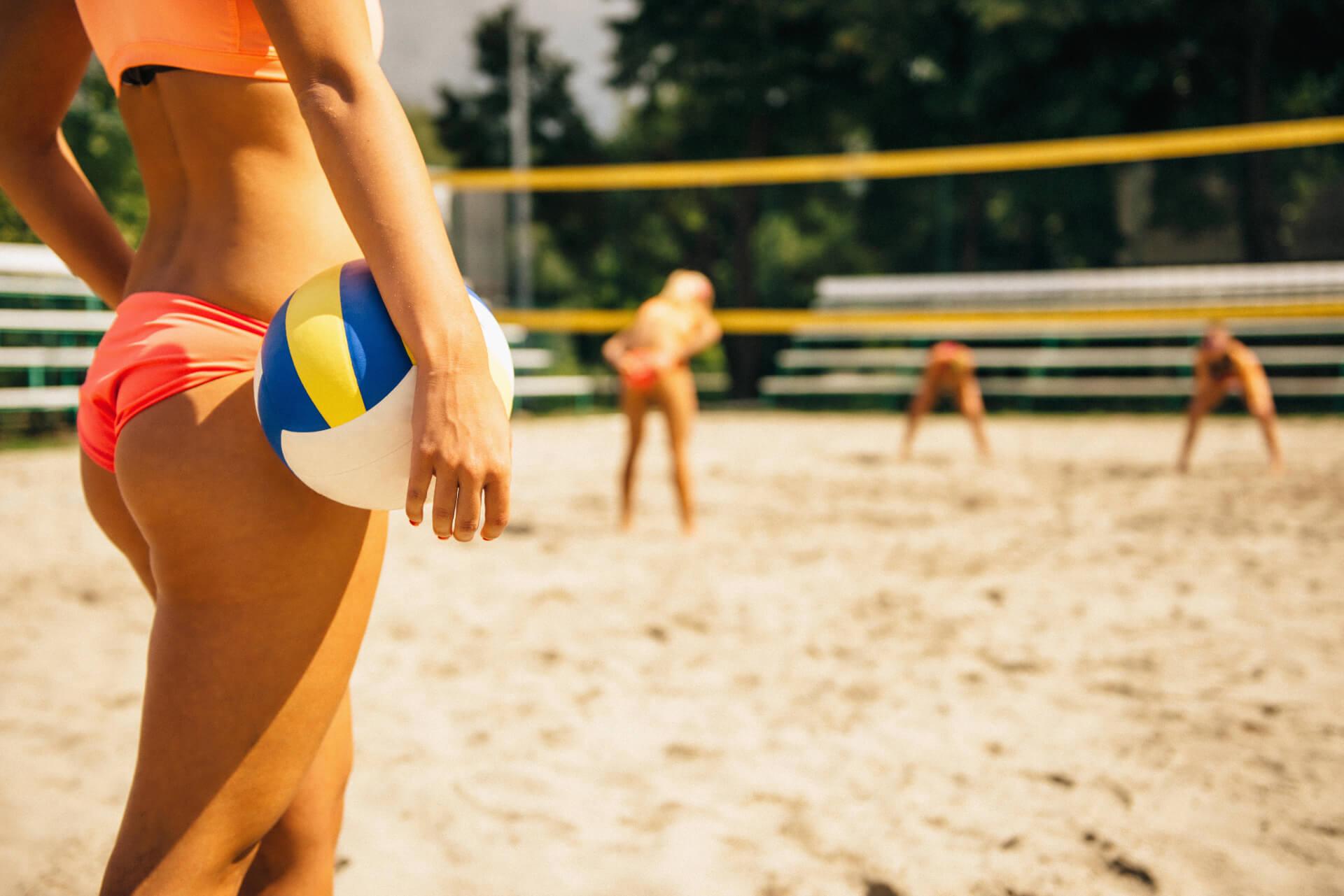 Plážové ihrisko