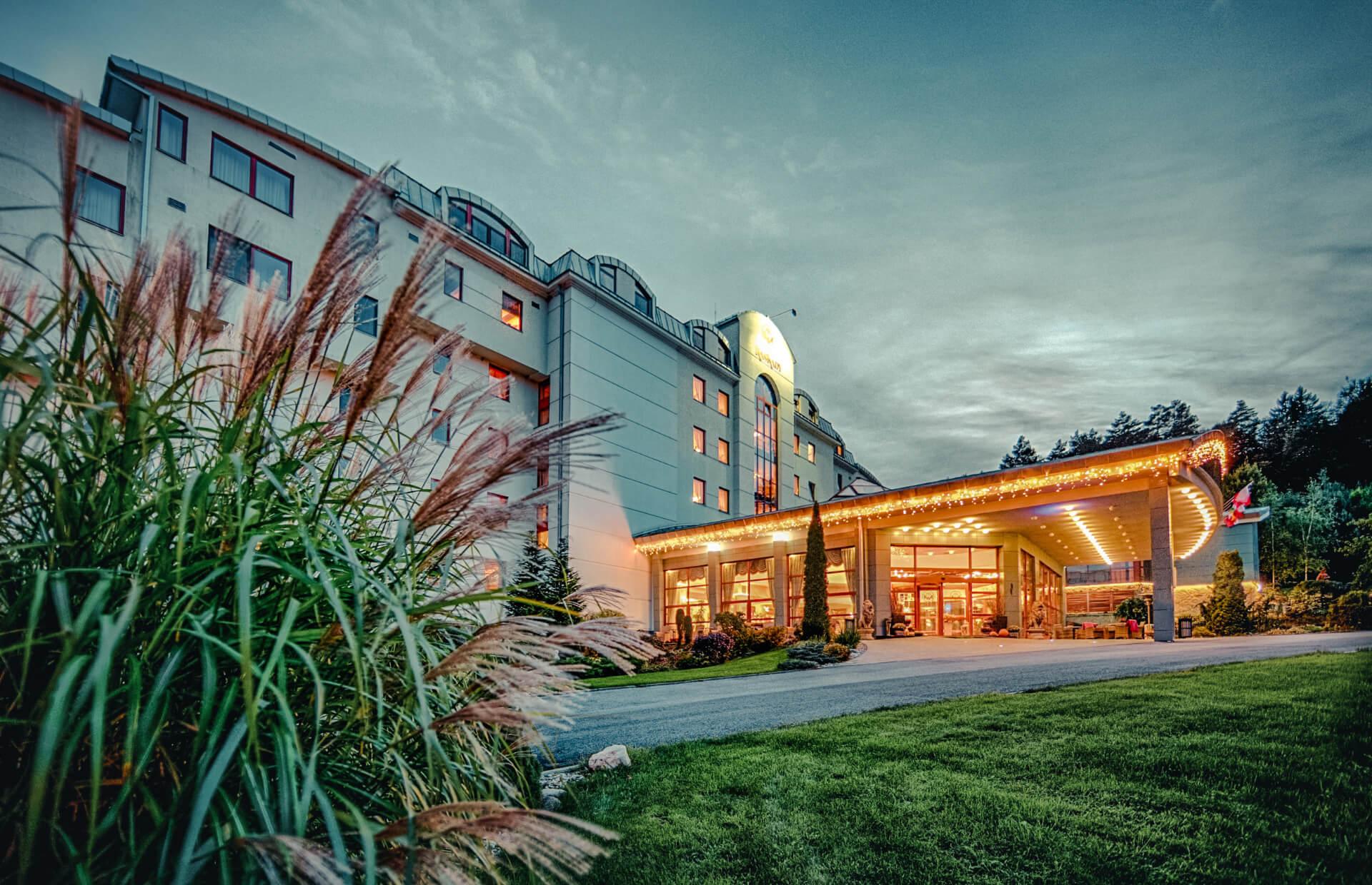 Hotel Kaskady exteriér