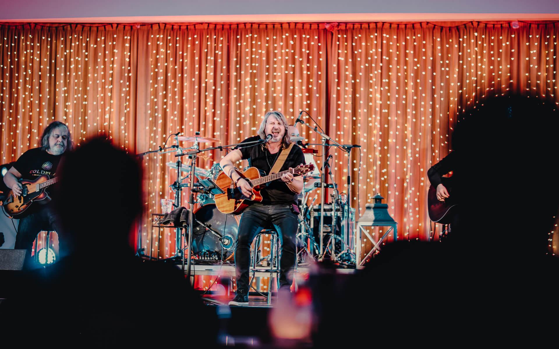 Event, podujatie v resorte Kaskady - hudobný koncert
