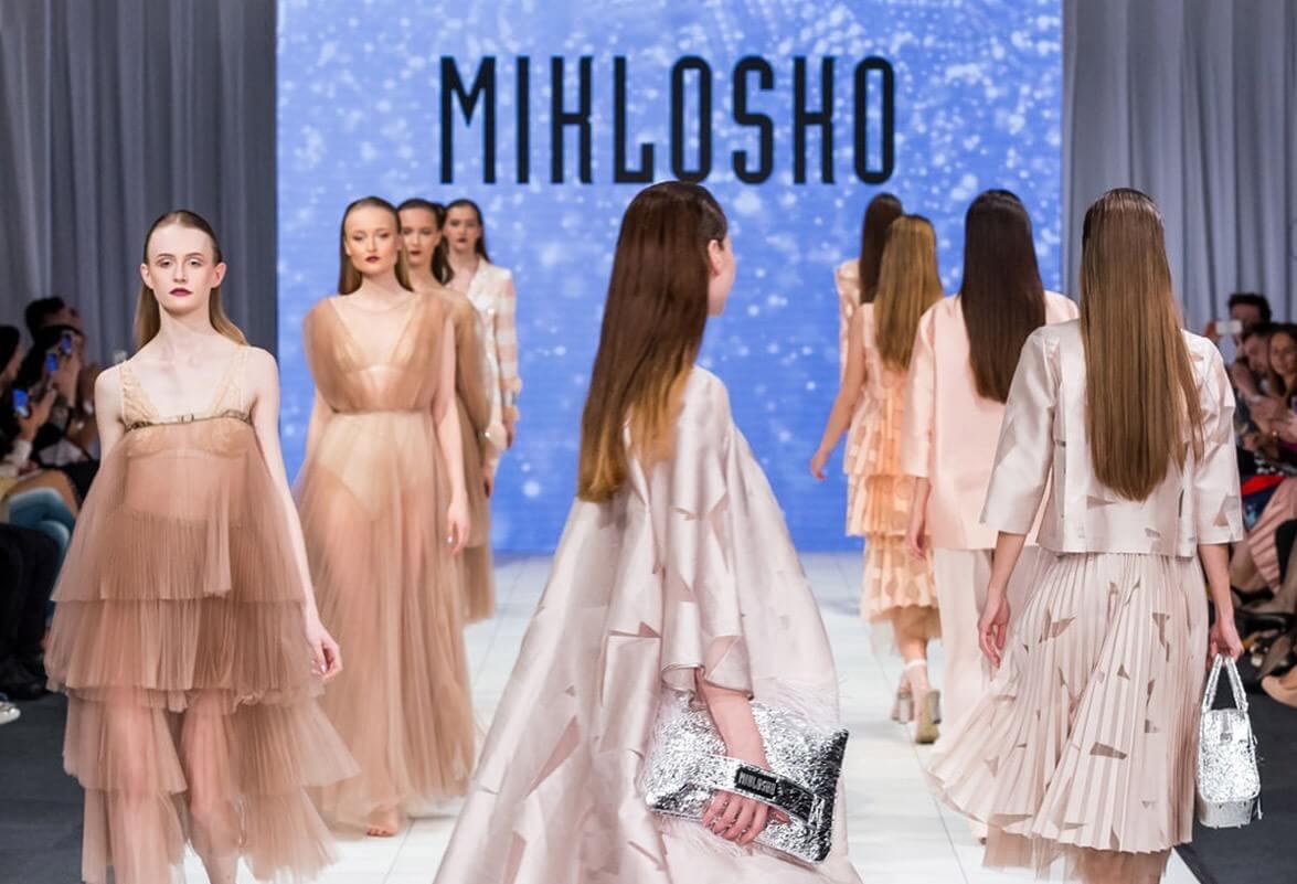 Fero Mikloško, Ida Sandor fashion show