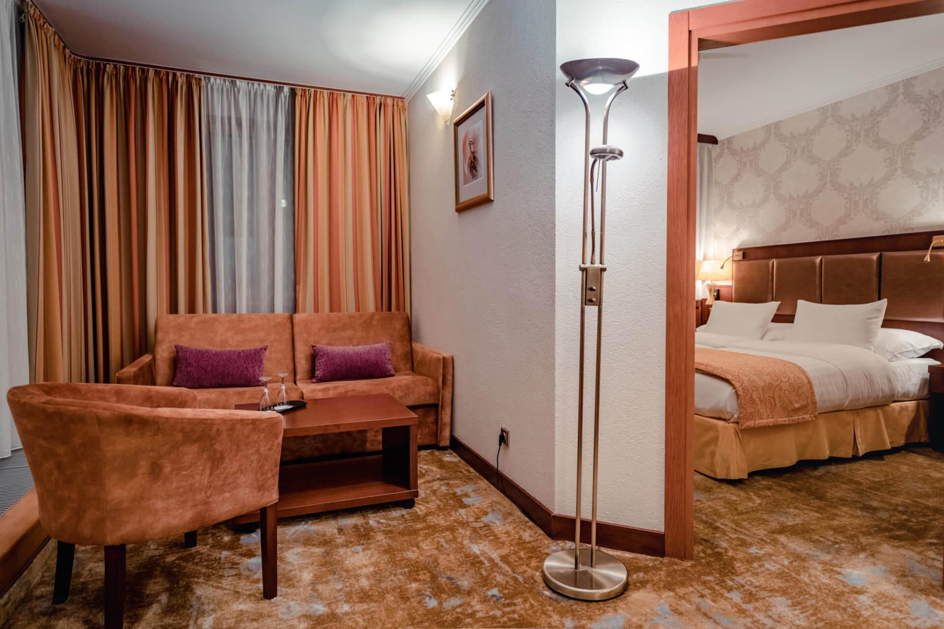 Suita (apartmán) v resorte Kaskady