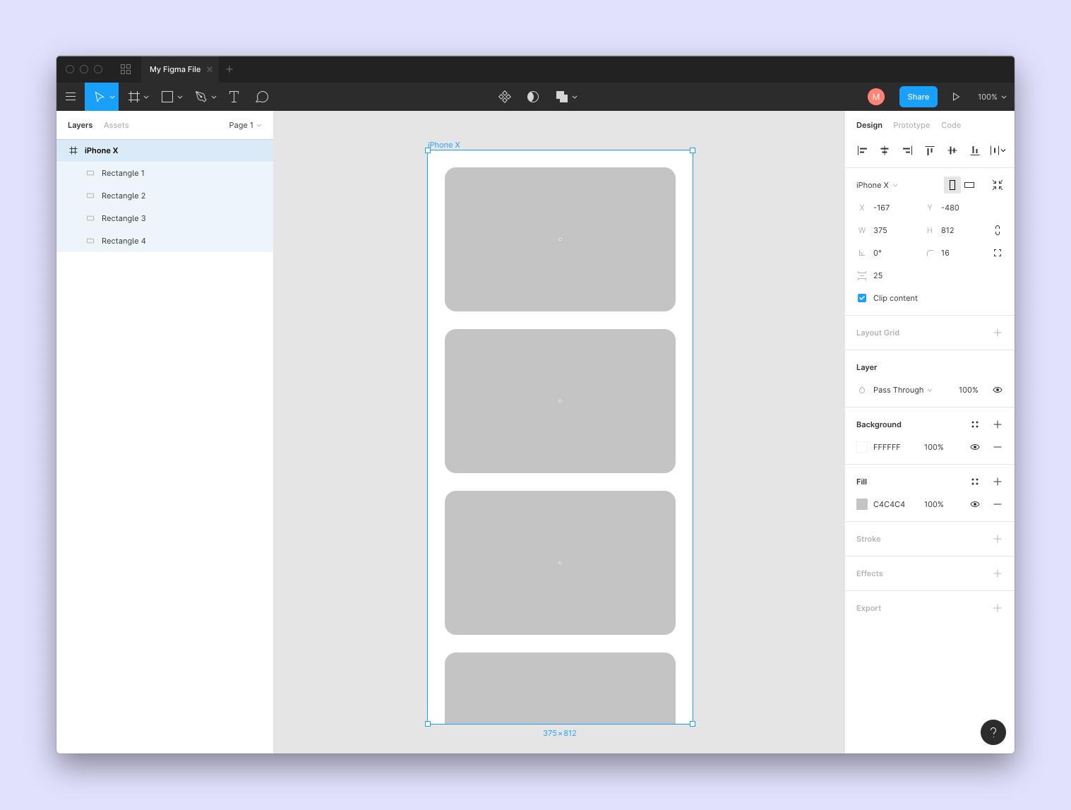 Figma frames