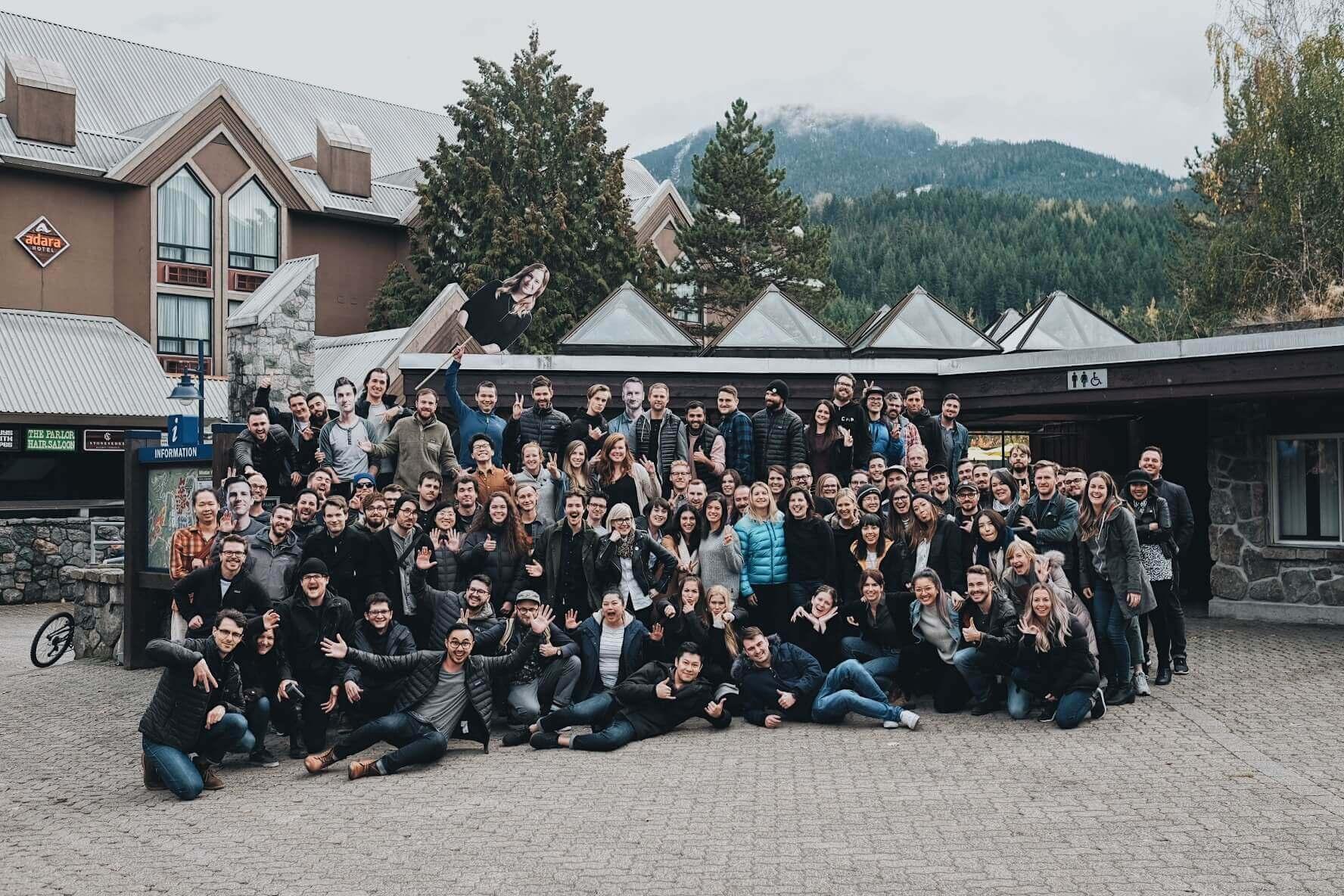 The MetaLab team at Remote Summit 2018