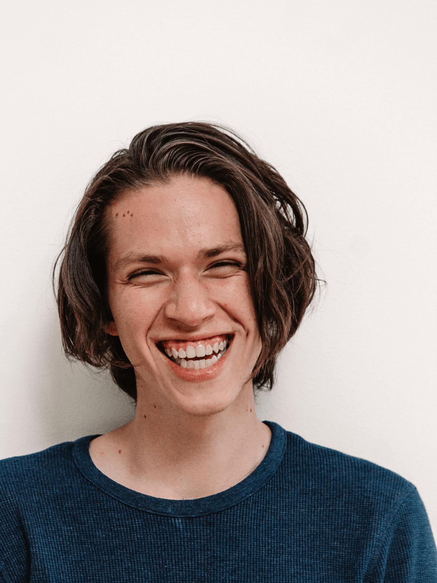 person smiling at dentist  kingman az kingman family dentistry