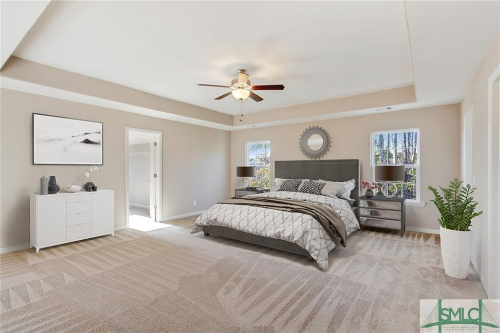 Bedroom with Virtual Staging