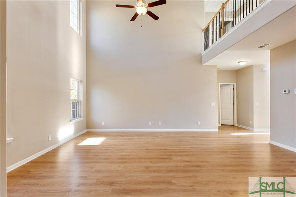 Empty Living/Family Room
