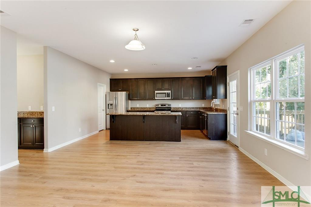 Empty Kitchen/Dining Area