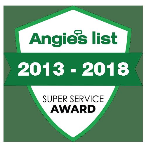Angie's List Award.