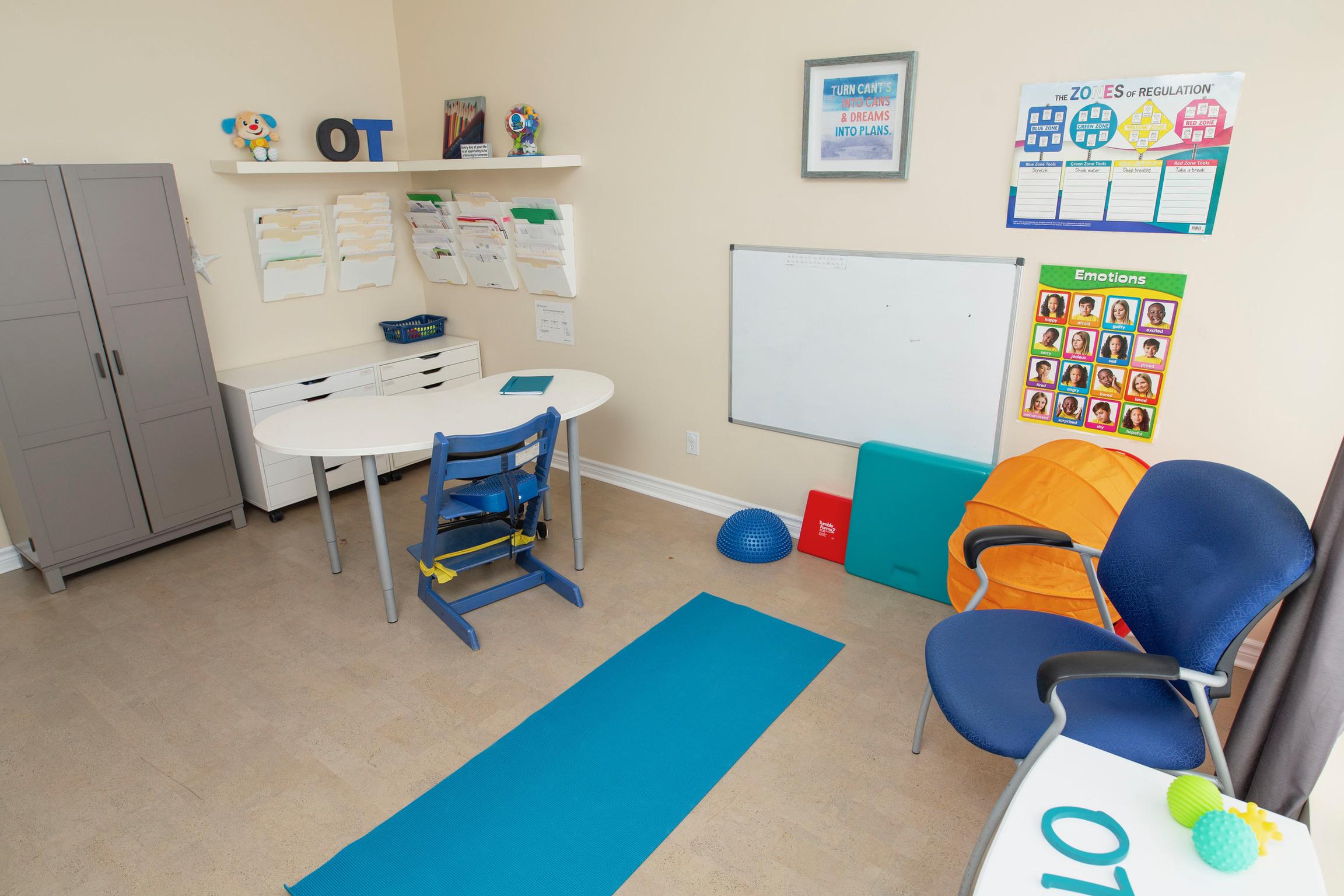 On The Ball Kanata activity room