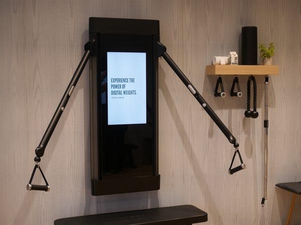 Mirror Home Gym Equipment