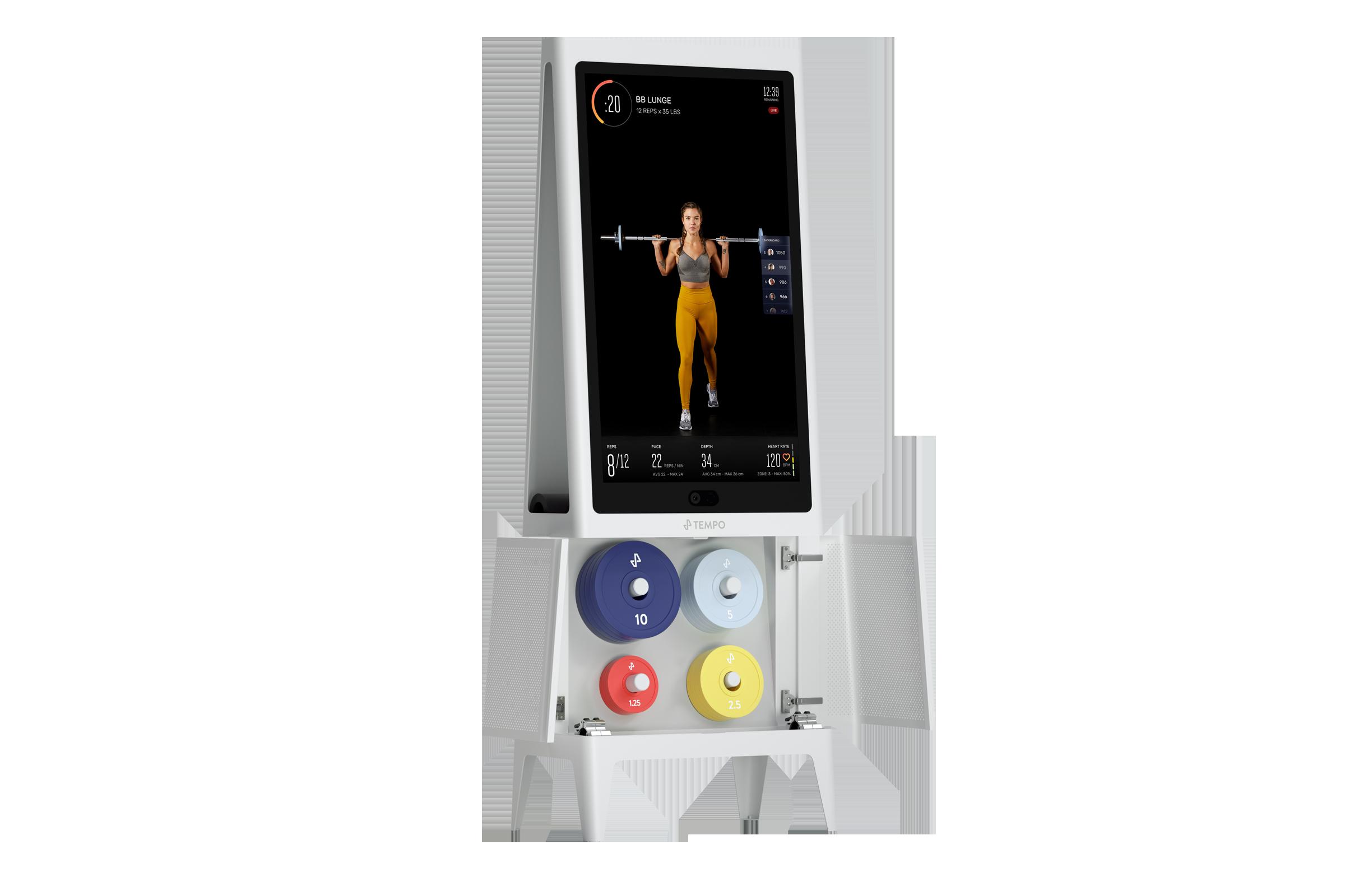 Tempo Home Gym equipment