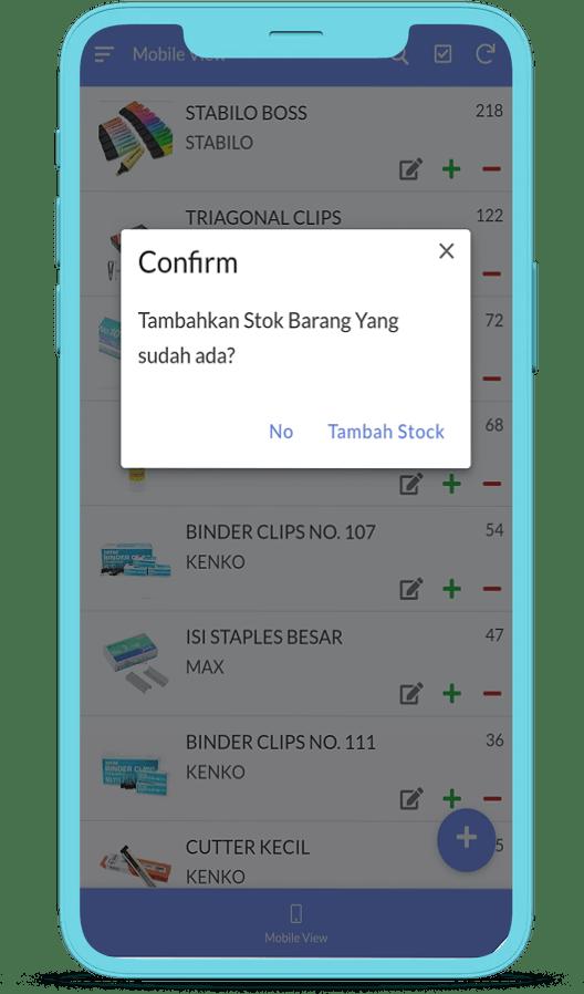 stationery app add item | hartexinity.com