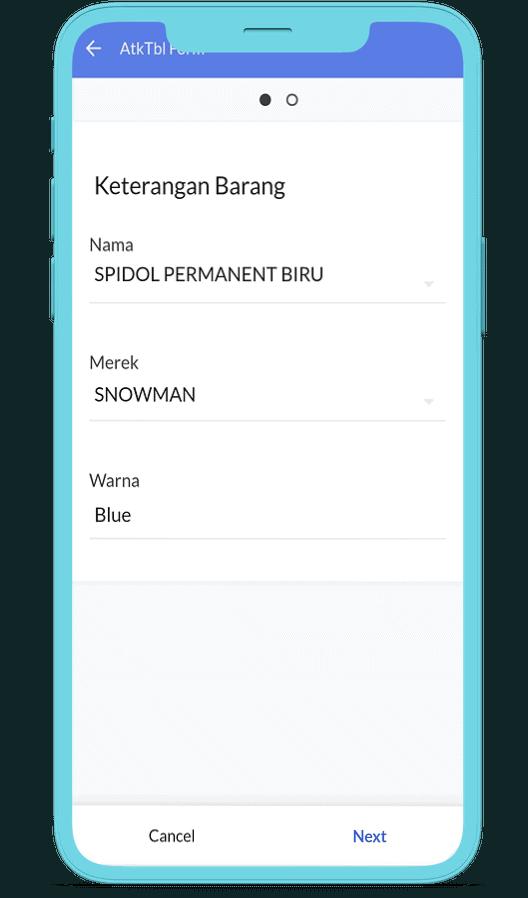 stationery app input nama barang| hartexinity.com